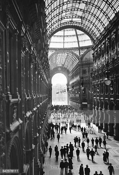 Passage Galleria Vittorio Emanuele 1933