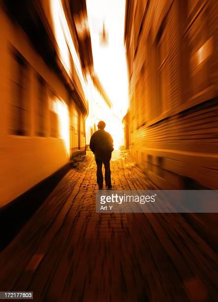 Passage towards the light