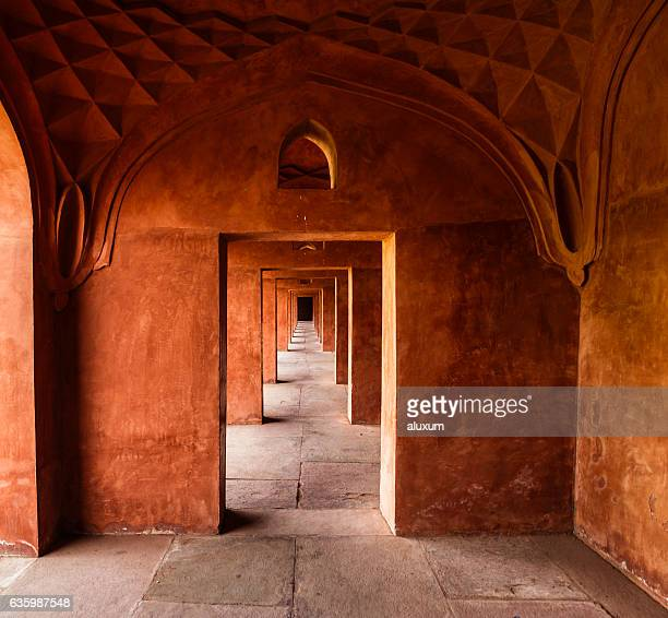 Passage within the Jilaukhana (Forecourt) of the Taj Mahal
