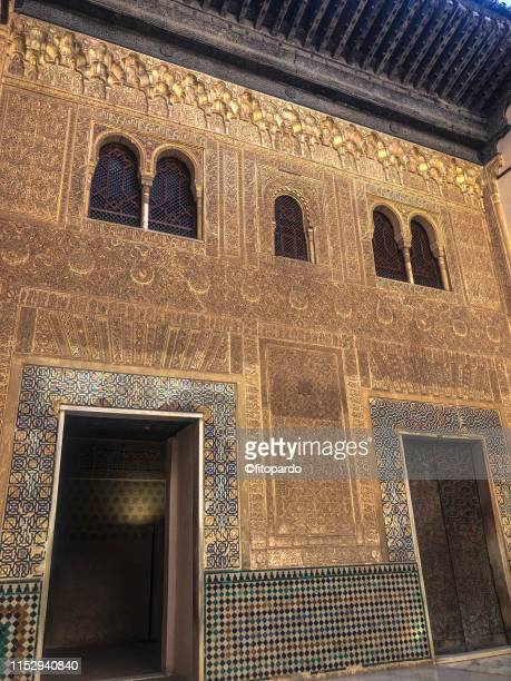 a passageway or doors in the alhambra - {{asset.href}} stock pictures, royalty-free photos & images