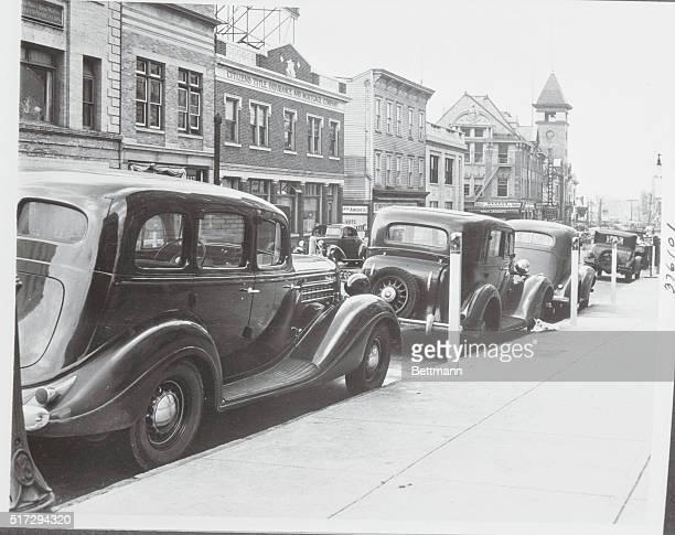 Passaic inaugurates parking machinesA new method of obtaining revenue from motorists was inaugurated by Mayor Benjamin F Turner of Passaic NJ when he...
