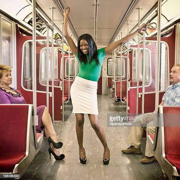 Passagers dans le métro-VII