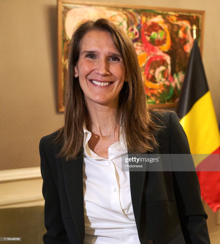 Sophie Wilmes new prime Minister : News Photo