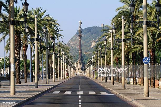 Passeig de Colon, Barcelona, Spain