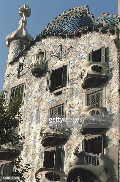 'Casa Battlo'umgebaut von Antonio Gaudi im Auftrag desTextilindustriellen Josep Battlo 1999