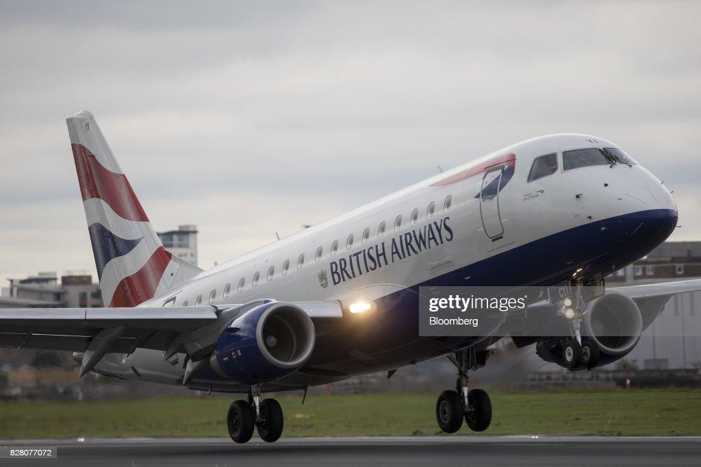 Operations At London City Airport : News Photo