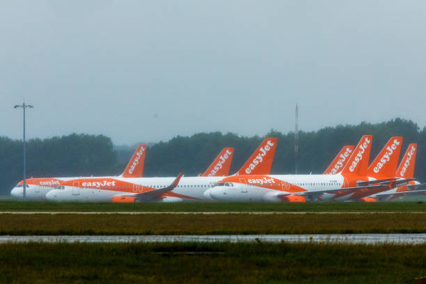 GBR: EasyJet Plc Aircraft As Company Weighs Closing Stansted Base