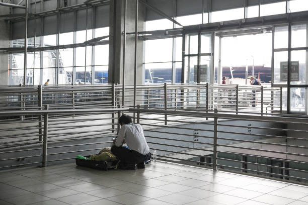 ZAF: Airline Passengers As Virus Confirmed In Sub-Saharan Africa