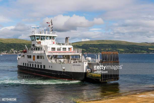 Passenger ferry on the Firth of Clyde Scotland