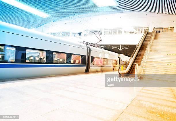 Passagers de la gare ferroviaire