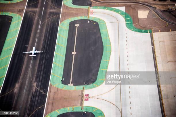 Passenger Jet on Runway