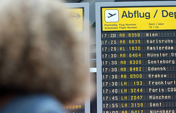 Tegel Airport Copes With Higher Flight Volume Photos and
