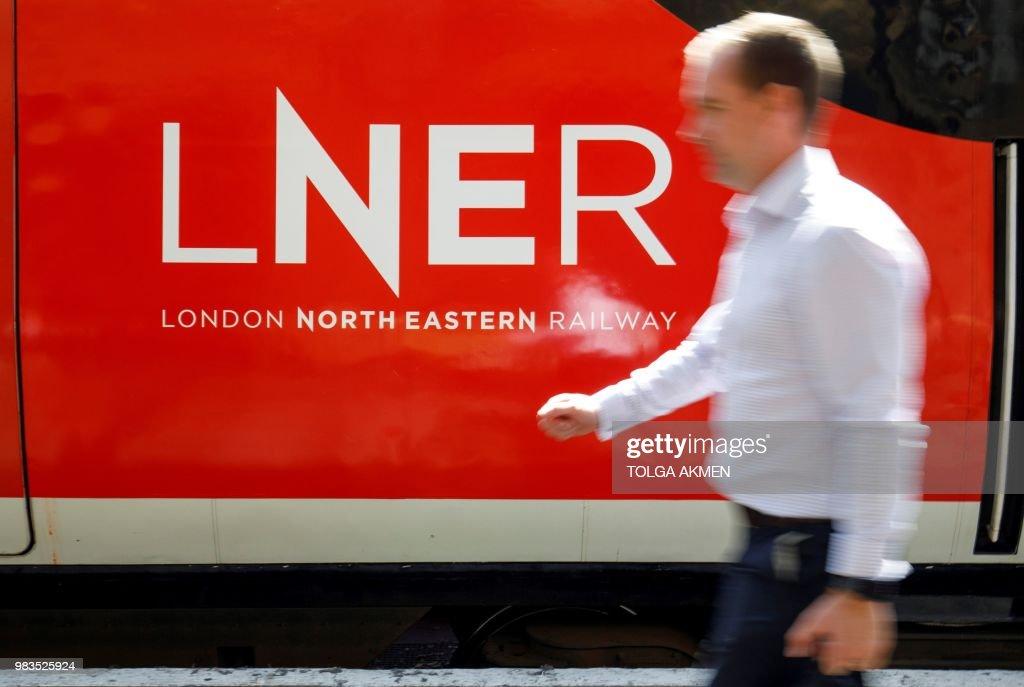 BRITAIN-TRANSPORT-RAIL-BUSINESS-LNER : News Photo