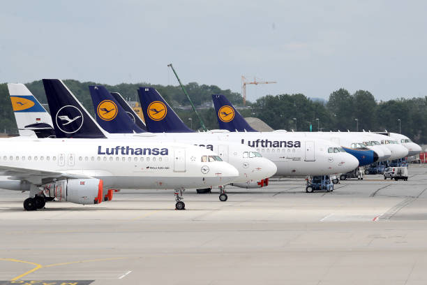 DEU: Lufthansa, Hammered By Coronavirus Fallout, To Receive Government Aid