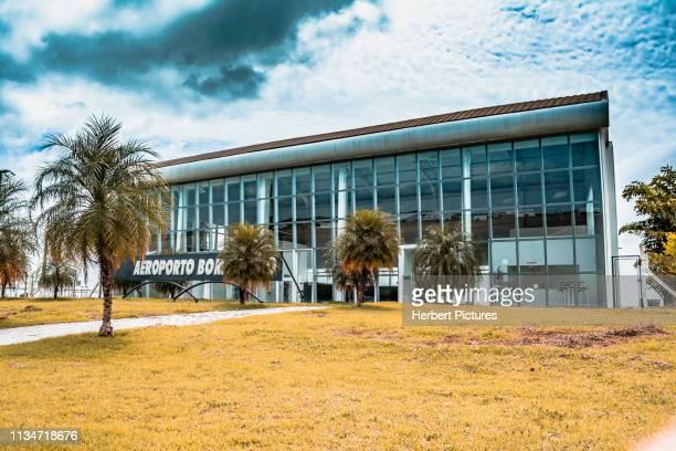 passenger terminal-good future airport (lvr/silc)-lucas do rio verde, mato grosso, mt, brazil - cuiabá stock photos and pictures