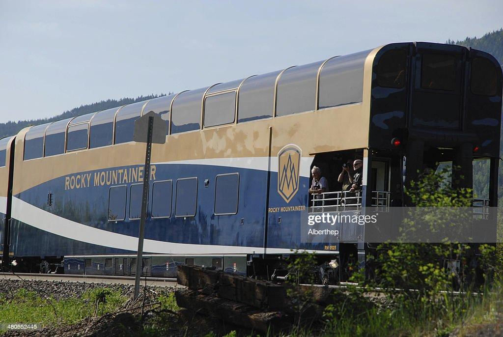 Tren de pasajeros : Foto de stock