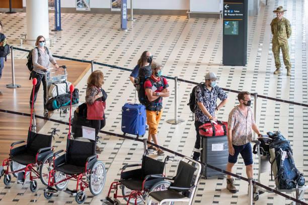 AUS: Coronavirus Evacuation Flight Carrying Passengers From Nepal Arrives In Brisbane
