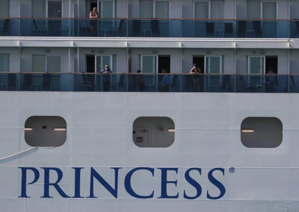 FL: Coral Princess Cruise Ship With Coronavirus Patients On Board Docks In Miami