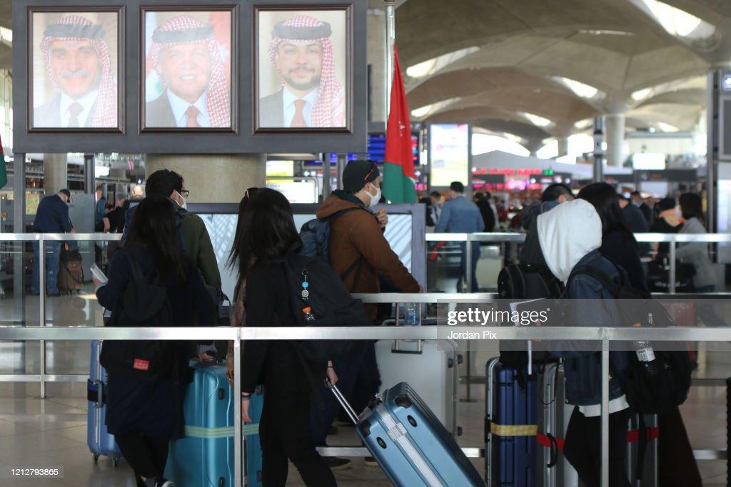 Jordan Closes Its Borders Due To Coronavirus : News Photo