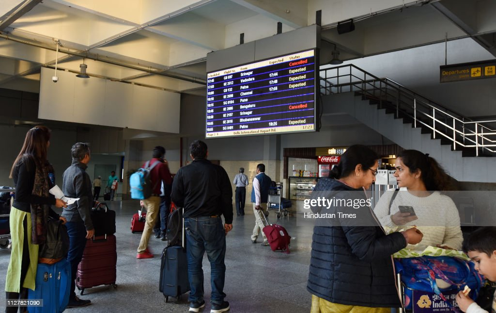 Operations At airports In North India Shut Temporarily Amid Tension With Pakistan : News Photo