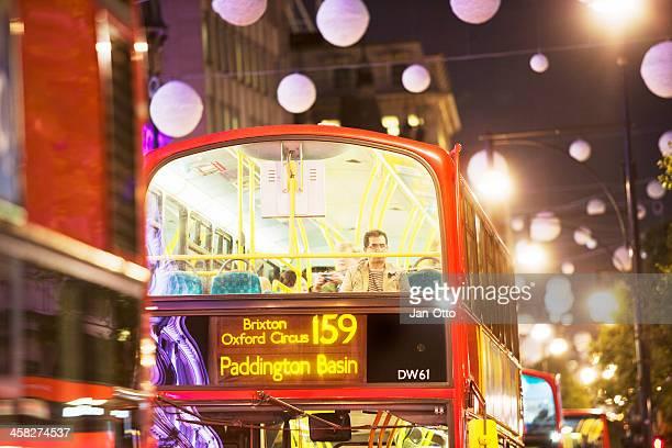 Passengers in London Oxford street