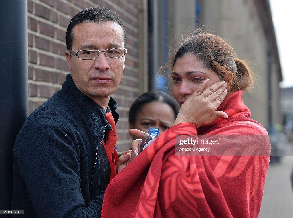 Brussels Zaventem Airport Blasts : News Photo