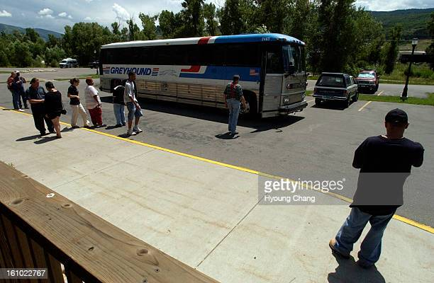 45 Denver Greyhound Bus Pictures, Photos & Images - Getty Images