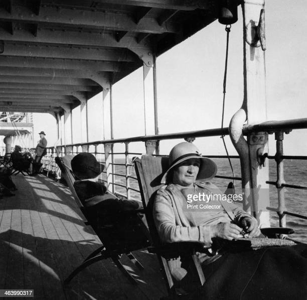 Passengers on a Cunard Line cruise to the West Indies, January-March 1931.