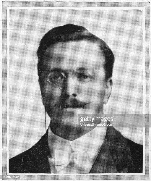 Passengers on RMS Titanic Photograph of Mr J Wesley Woodward the cellist of the Titanic's band which at first played merry tunes to keep up the...