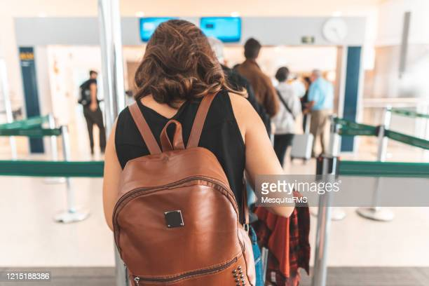 passengers passing immigration - emigration and immigration stock pictures, royalty-free photos & images
