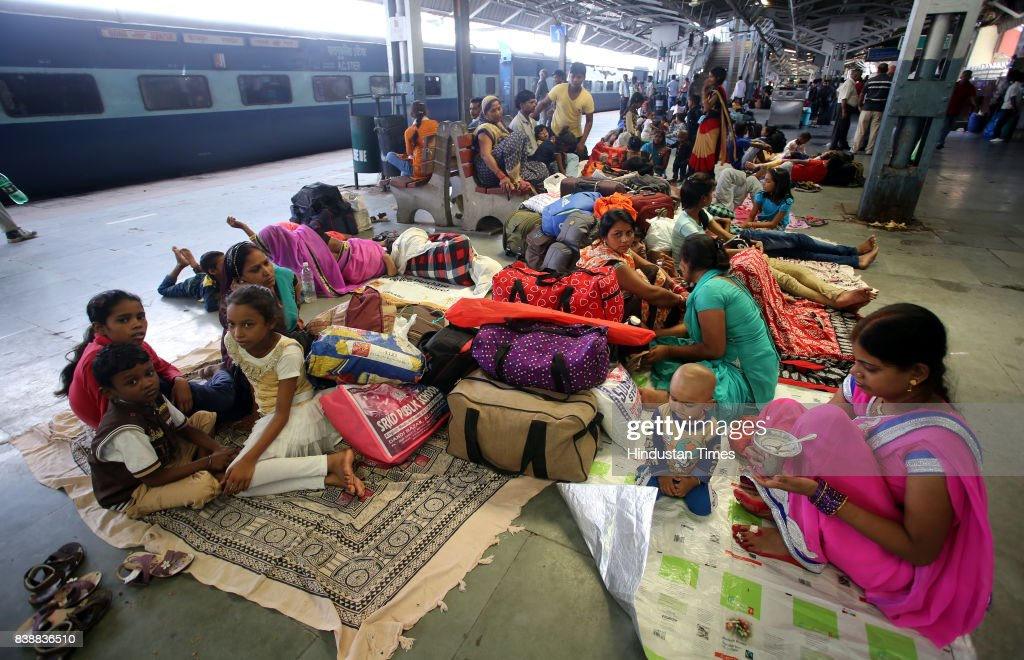 Passengers stranded at Jammu railway station after receiving a formal request from the Punjab and Haryana governments the Northern Railway has...