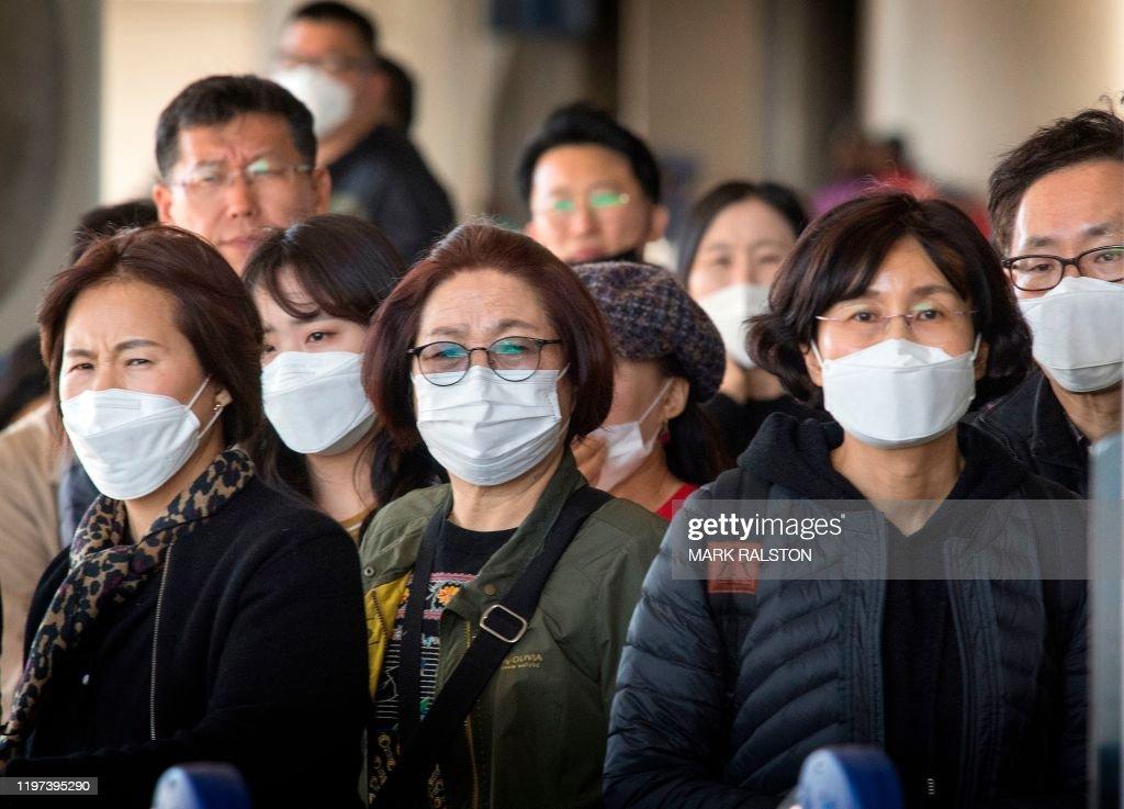 TOPSHOT-US-CHINA-HEALTH-VIRUS-AVIATION : News Photo