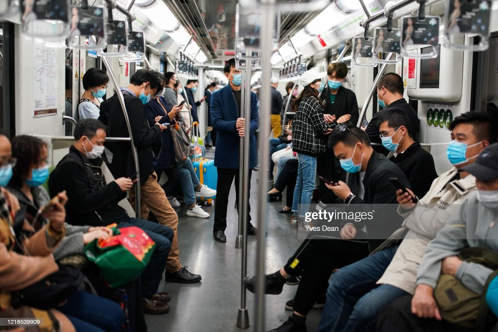 Daily Life In Shanghai After China Declared Epidemic Contained : News Photo