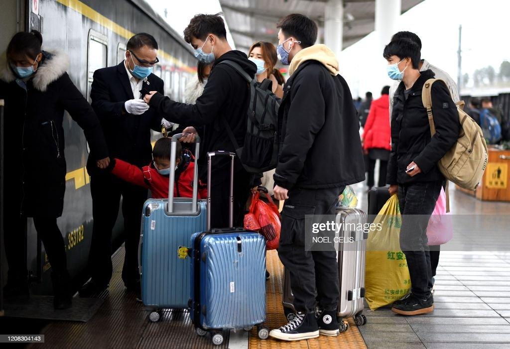 CHINA-HEALTH-VIRUS : News Photo
