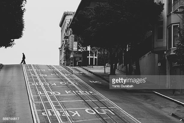 passer-by in san francisco streets - the slants stock pictures, royalty-free photos & images