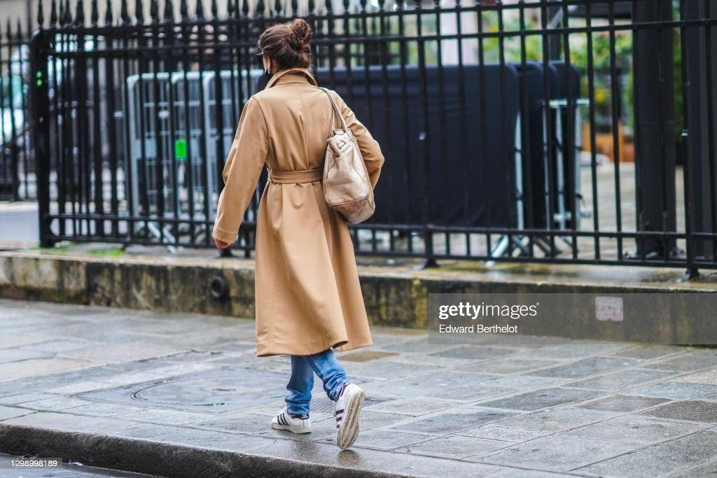 Street Style In Paris - January 2021 : News Photo