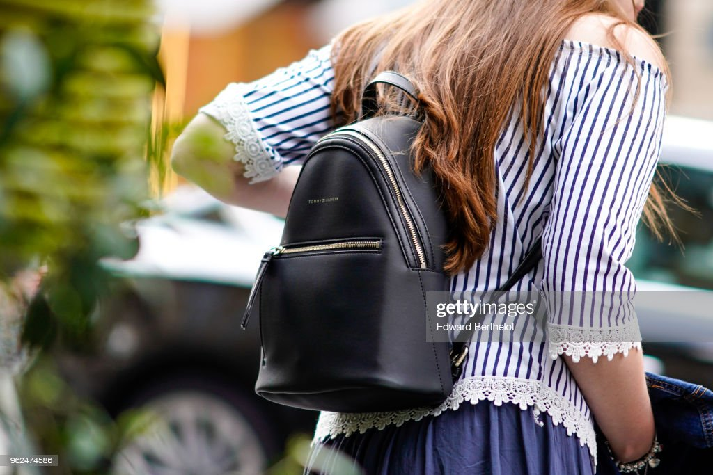 Street Style In Paris - May 2018 : ニュース写真