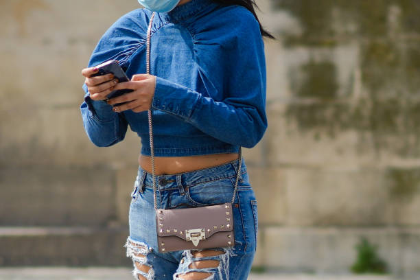 FRA: Street Style In Paris - April 2021