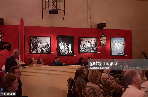Passholders attend 'A Conversation With Terry Leonard' during day three of the 2015 TCM Classic Film Festival on March 28 2015 in Los Angeles...
