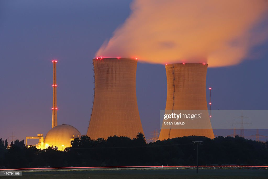 Grafenrheinfeld Nuclear Power Plant To Cease Operation : News Photo