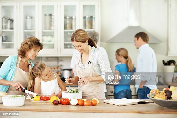 Passing on family recipes