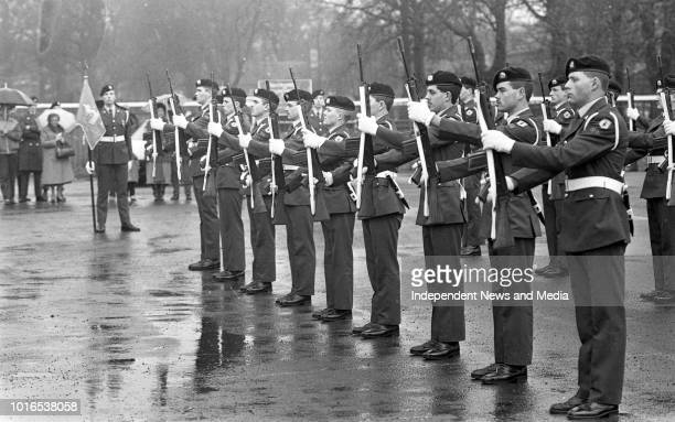 Passing Out Parade of the 2nd Field Artillery Regiment at McKee Barracks