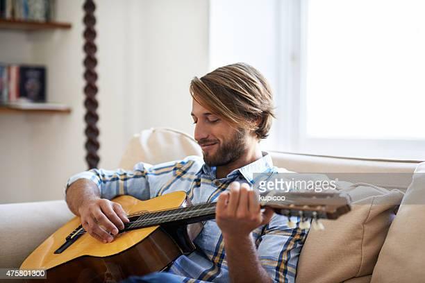 時間に合格したギター
