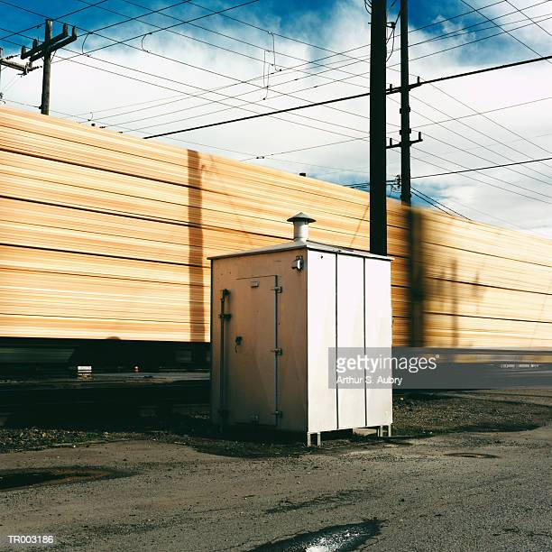 passing train - rail freight stock pictures, royalty-free photos & images