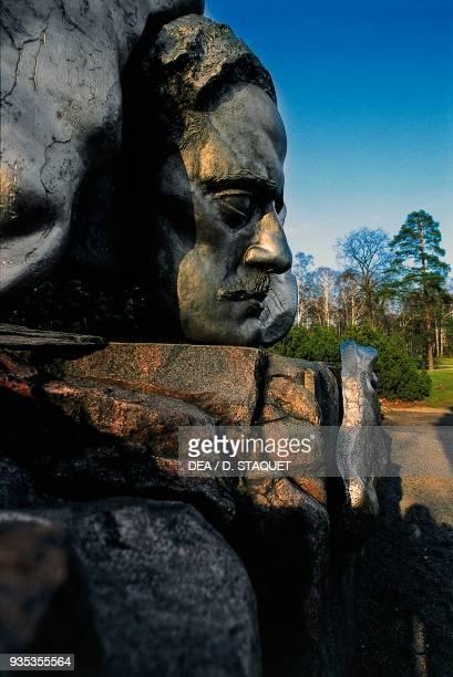 Passio musicae monument to Jean Sibelius by Eila Hiltunen Helsinki Finland 20th century Detail
