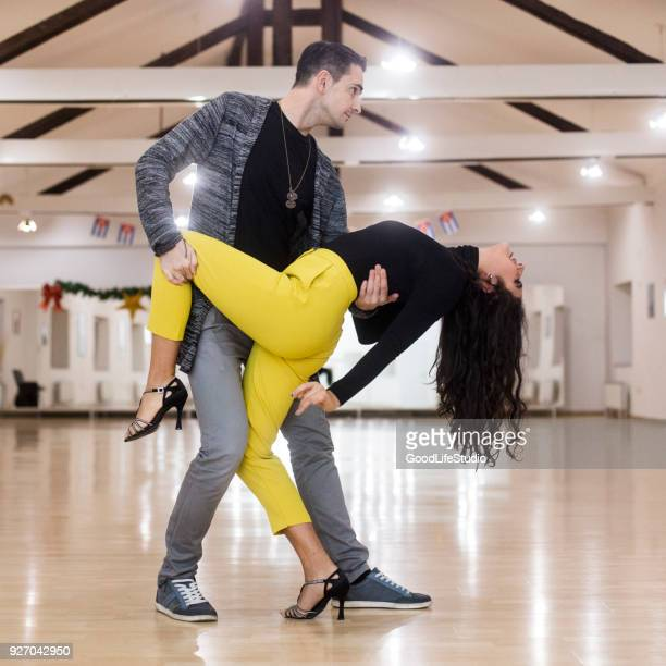 passion for dancing - rumba stock photos and pictures