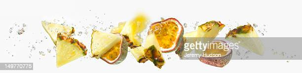 Passion Fruit and Pineapple