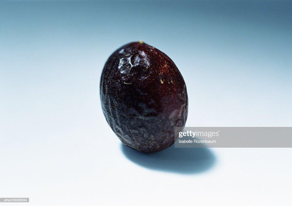 Passion fruit, close-up : Stockfoto