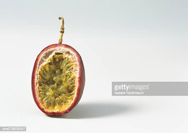 Passion fruit half
