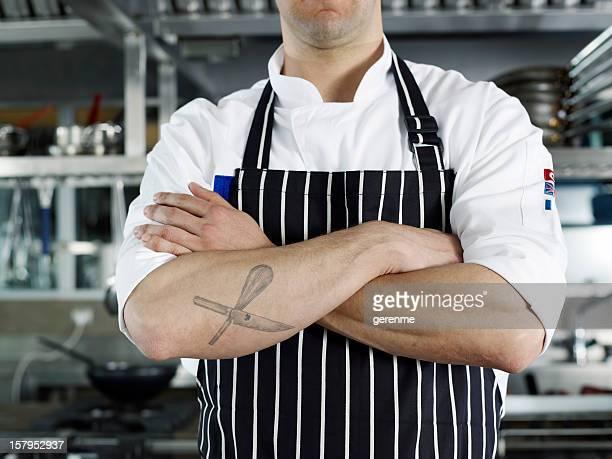 Leidenschaftlichen Chefkoch